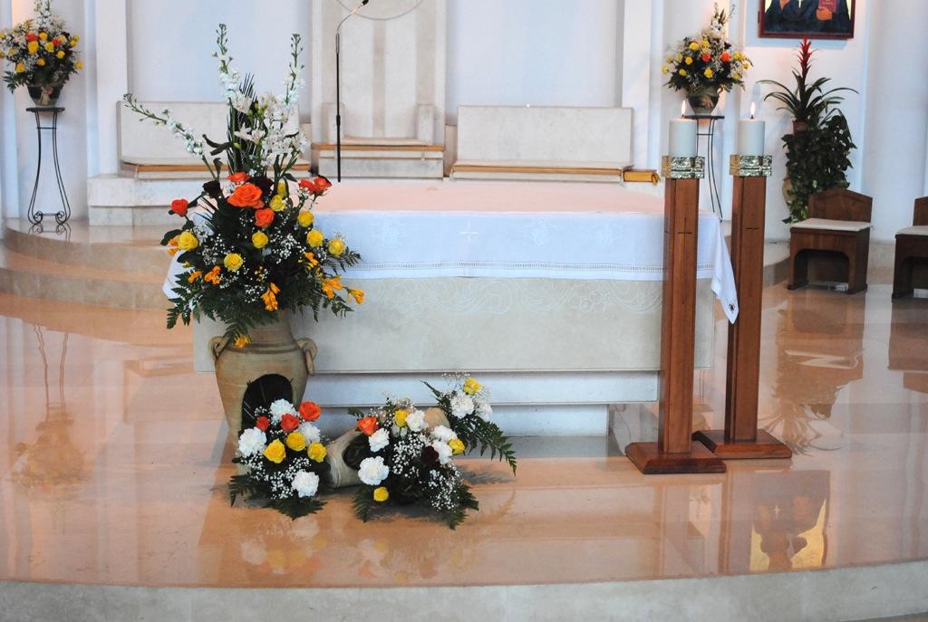 arte floreale nella liturgia